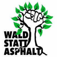Wald statt Asphalt - Logo